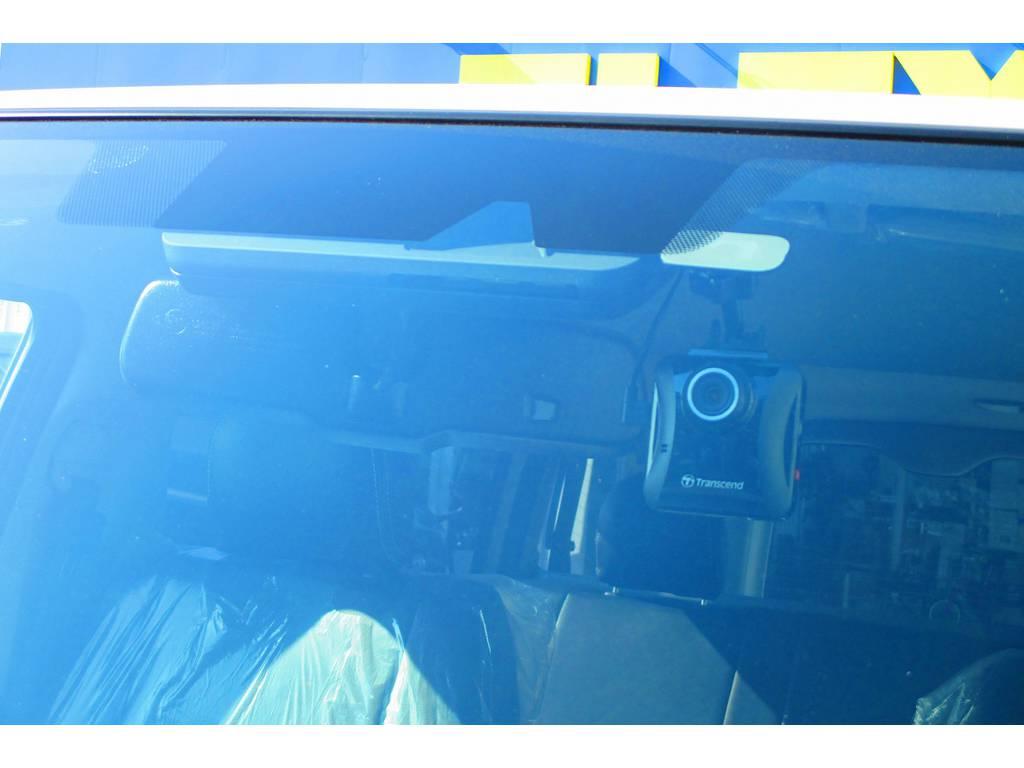 ドライブレコーダーも装着済み!万が一の時には頼りになります!最近は装着率も増えてきておりますよっ♪ | トヨタ ハイエースバン 2.0 スーパーGL ロング ナビレコカスタムパッケージ車