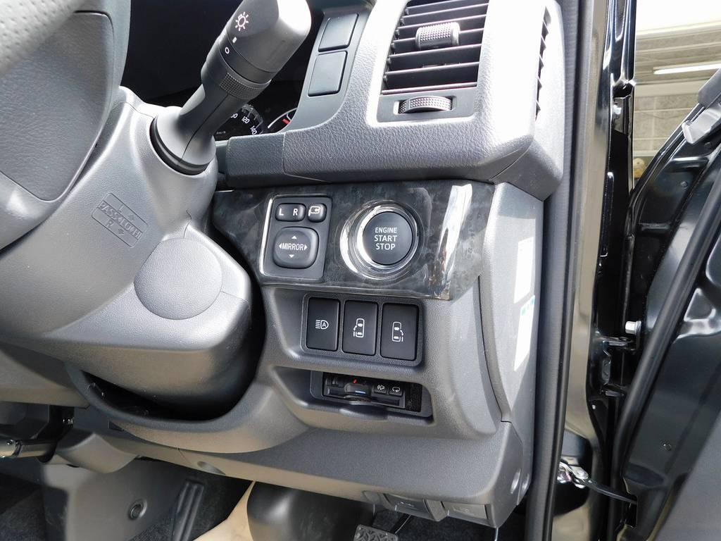 ETCももちろん装着済み!純正のように美しくインストールされてます♪隙間の処理も抜かり無しです! | トヨタ ハイエースバン 2.8 スーパーGL ロング ディーゼルターボ ナビパッケージ車