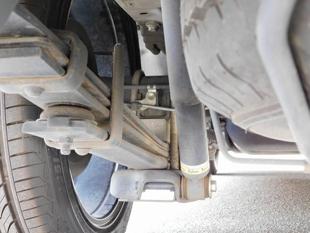 ショックは前オーナー様が装着したネオチューン♪ | トヨタ ハイエースバン 2.0 スーパーGL ロング カスタムパッケージ
