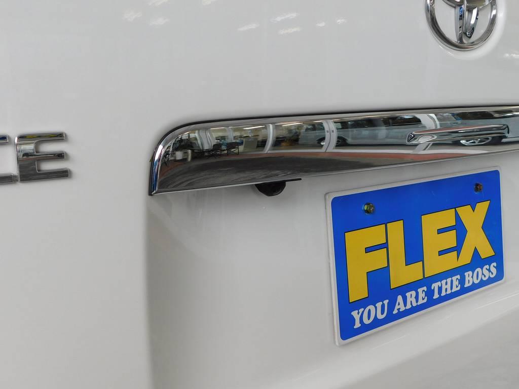 バックカメラも装着されてますので駐車も安心ですねっ♪ | トヨタ レジアスエース 2.0 スーパーGL プライムセレクション ロングボディ ライトカスタムパッケージ