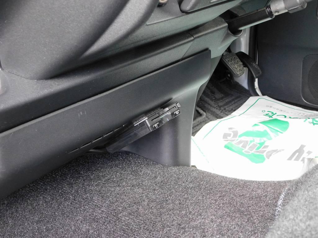 ETCももちろん装備されてます!邪魔にならない所に付いてますよっ♪ | トヨタ レジアスエース 2.0 スーパーGL プライムセレクション ロングボディ ライトカスタムパッケージ