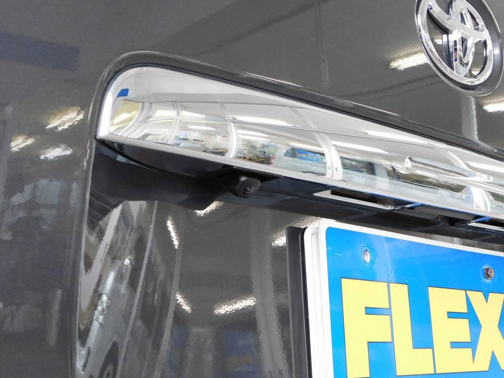 バックカメラ搭載車になりますので駐車も楽チンですよぉ♪ | トヨタ ハイエースバン 2.0 スーパーGL ロング 厳選仕入れ車