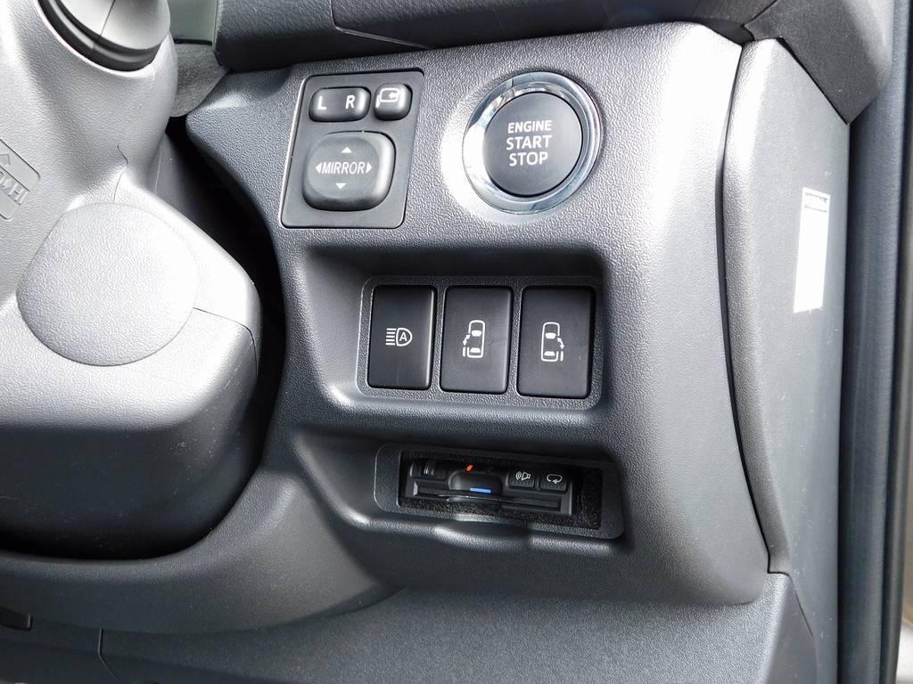 ETCももちろん装着済みです!純正のように美しくインストール!隙間の処理も抜かり無しですよっ!!!   トヨタ ハイエースバン 2.0 スーパーGL 50TH アニバーサリー リミテッド ロングボディ ナビパッケージ車