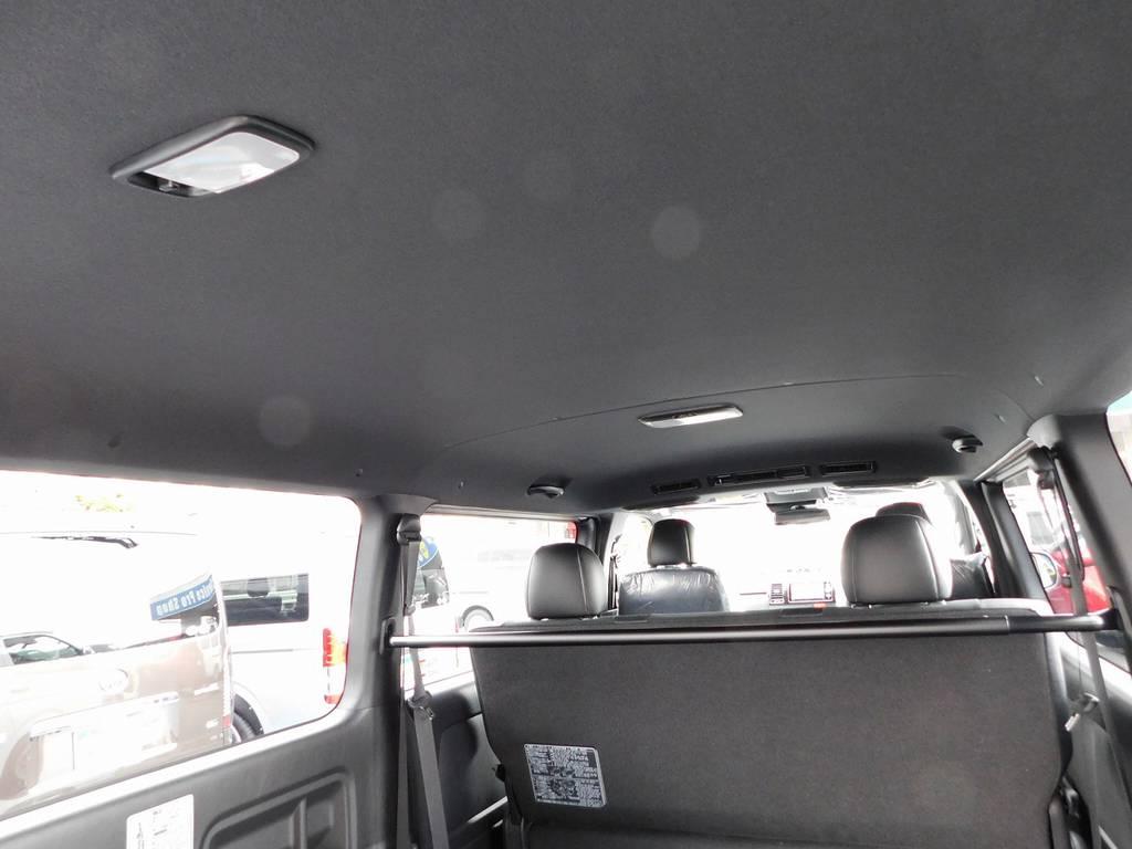 特別仕様車限定のブラック内装!引き締まって良いですねっ♪シックな感じがまたグッドです! | トヨタ ハイエースバン 2.0 スーパーGL ダークプライムⅡ ロングボディ スタイリッシュカスタムパッケージ