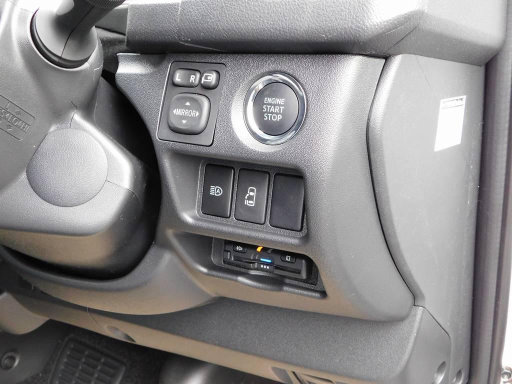 もちろんETCも装着済み♪純正のように美しくインストール!隙間の処理も抜かり無しです♪ | トヨタ ハイエース 2.7 GL ロング ミドルルーフ 4WD アドベンチャーカスタム