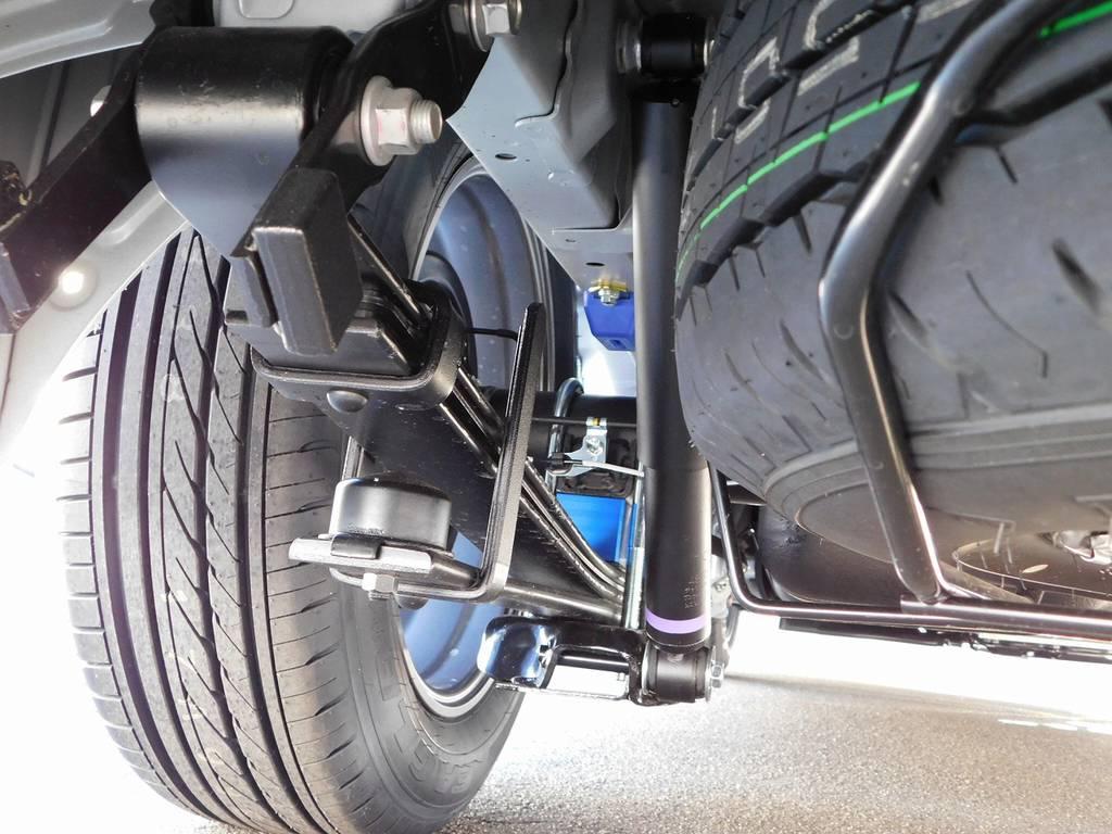 ローダウンブロックキットは2インチを装着!もちろん前後バンプ類も交換済みですよっ♪ | トヨタ ハイエースバン 2.8 スーパーGL ロング ディーゼルターボ ドラレコパッケージ車