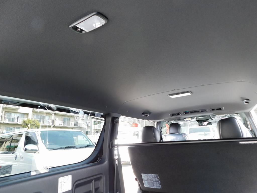 特別仕様車専用のブラック内装!シックでカッコいいですねっ♪ | トヨタ ハイエースバン 2.0 スーパーGL ダークプライムⅡ ロングボディ スタイリッシュカスタムパッケージ