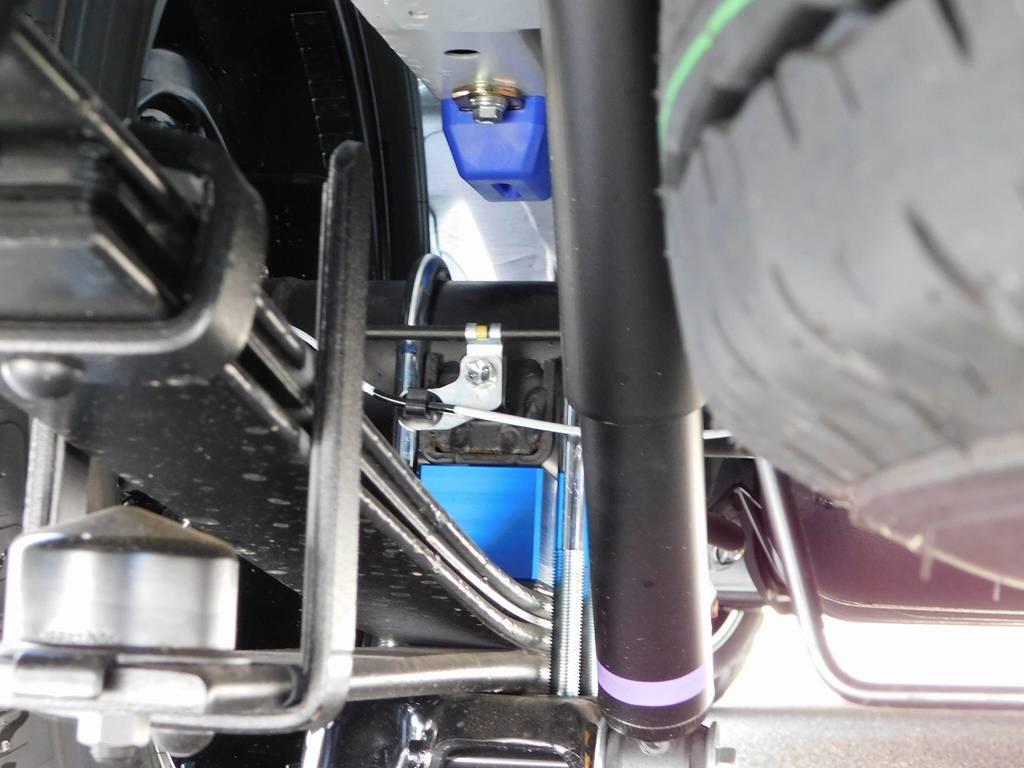 ローダウンは2インチを採用!もちろん前後バンプ類も変更済みですよっ♪ | トヨタ ハイエースバン 2.0 スーパーGL ダークプライムⅡ ロングボディ スタイリッシュカスタムパッケージ