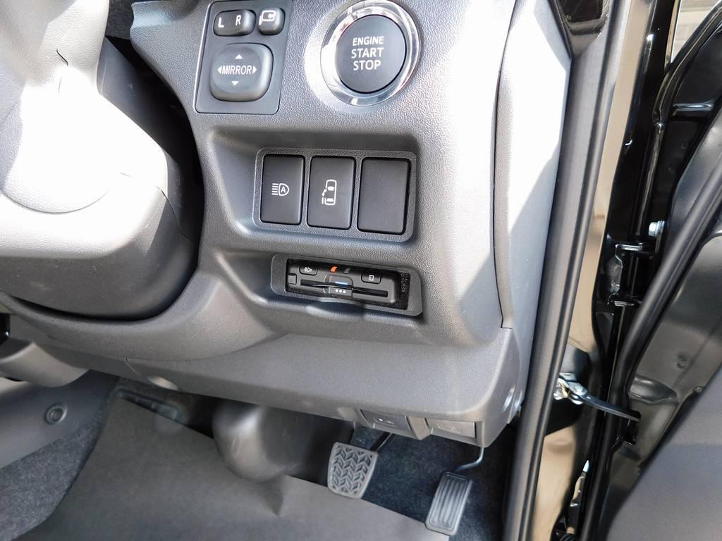 ETCは純正のように美しくインストール♪隙間の処理も抜かりは御座いません!細かい部分もこだわっておりますよっ♪ | トヨタ ハイエース 2.7 GL ロング ミドルルーフ トリプルモニターカスタム車