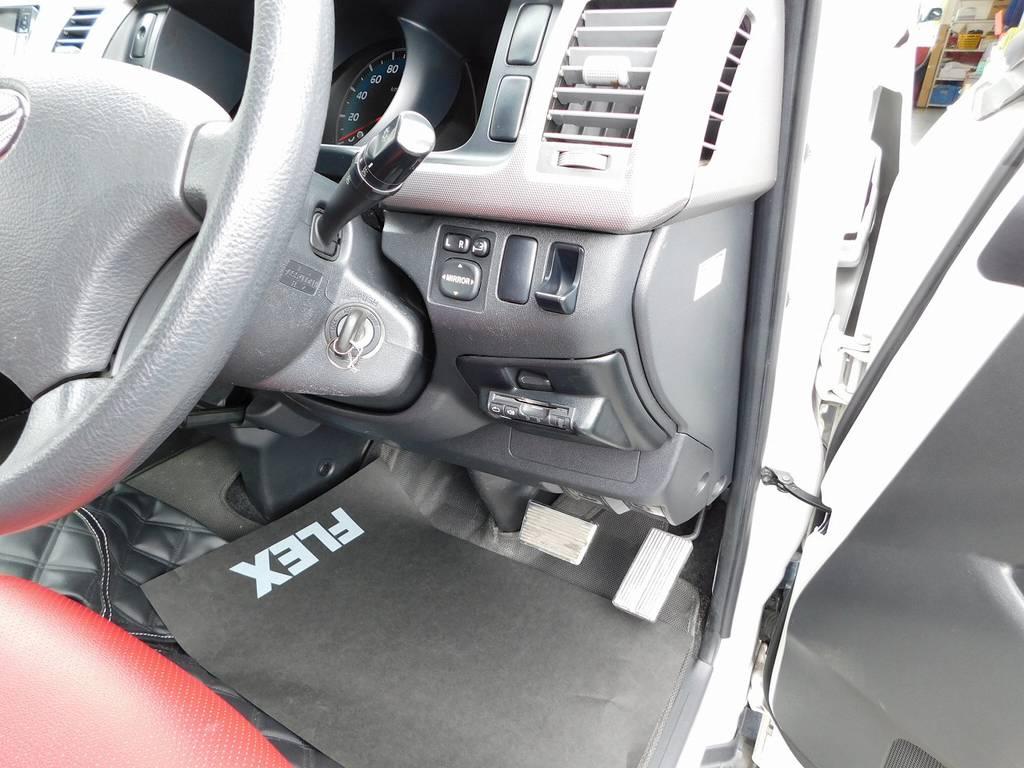 もちろんETCも搭載されております♪邪魔にならない所にしっかり装着されております!!! | トヨタ ハイエースバン 2.0 スーパーGL ロング 415コブラフルコンプリート車