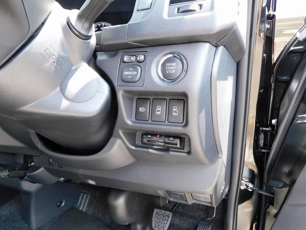 もちろんETCも装着済み♪純正のように美しくインストールされております!隙間の処理も抜かり無しですよっ!!!   トヨタ ハイエースバン 2.0 スーパーGL 50TH アニバーサリー リミテッド ロングボディ ブラックエディション