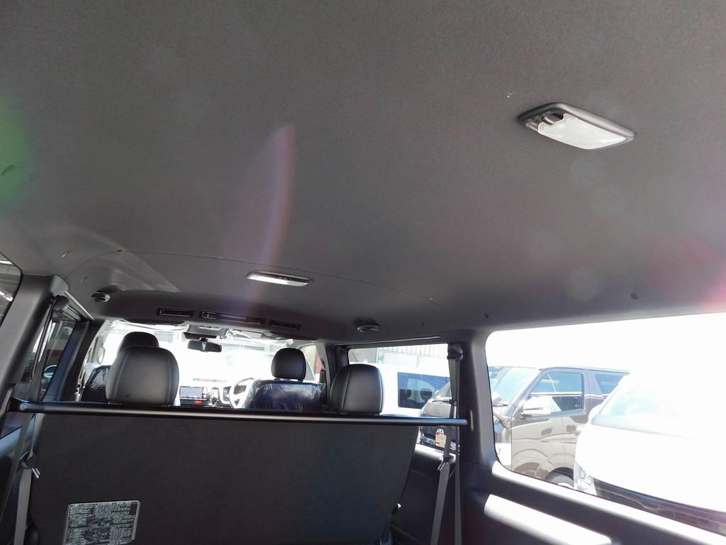 特別仕様車専用のブラック内装♪シックで落ち着きがありますねっ!!! | トヨタ ハイエースバン 2.0 スーパーGL ダークプライムⅡ ロングボディ ブラックナビパッケージ