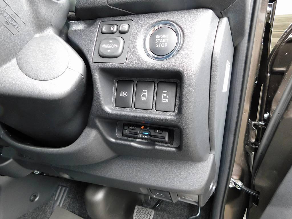 もちろんETCも装着済み!純正のように美しくインストール!隙間の処理も抜かりは御座いませんよっ!!! | トヨタ ハイエースバン 2.0 スーパーGL 50TH アニバーサリー リミテッド ロングボディ ナビパッケージ車