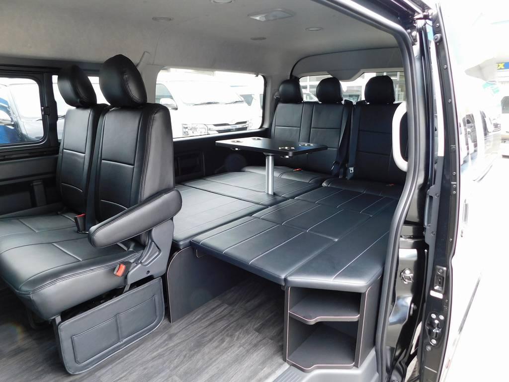 | トヨタ ハイエース 2.7 GL ロング ミドルルーフ トリプルモニターR1内装架装車
