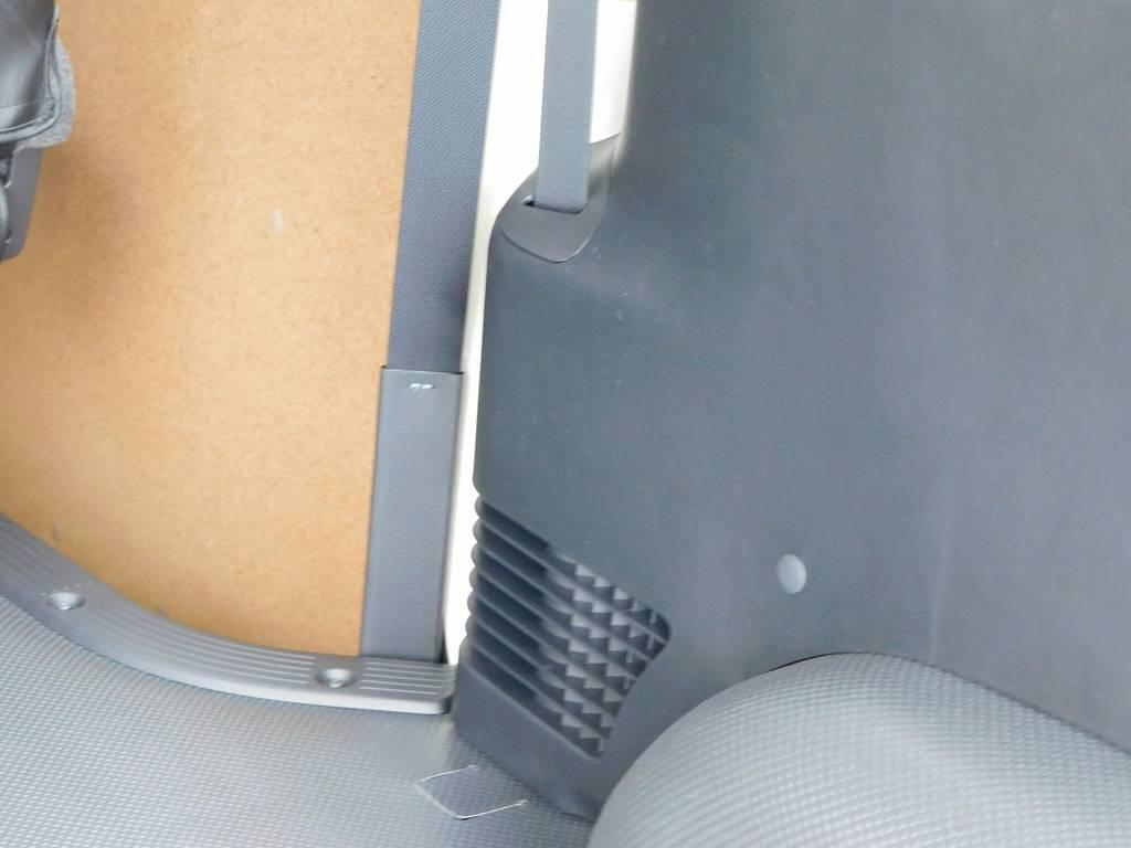 リヤヒーター・リヤクーラー完備で夏は涼しく冬は暖かい!!!必須の装備はちゃんと付いてますよっ♪