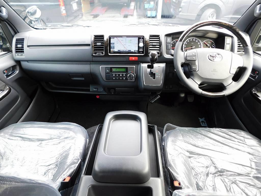 特別仕様車だけの特別な内装♪座面は高く運転もしやすいですよっ♪