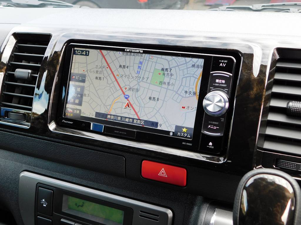 搭載されているナビは人気のパイオニア製♪地図の精度と見やすさ使いやすさで人気のナビゲーション♪車両価格に含まれておりますので追加費用は掛かりませんよっ!!!