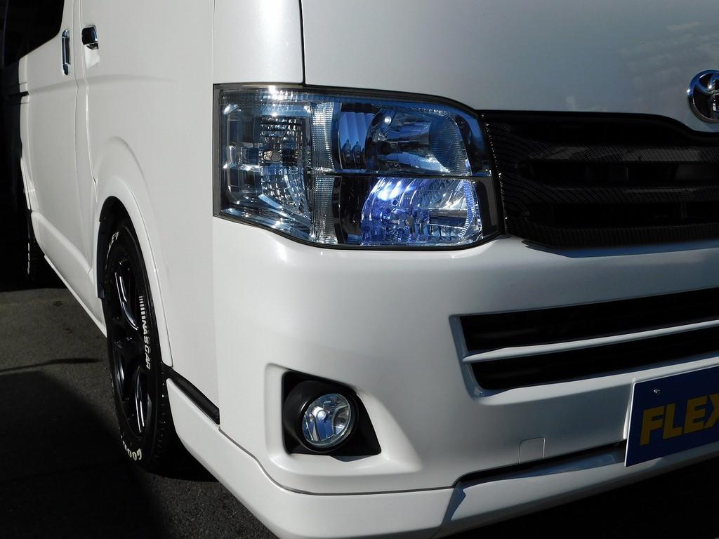 ライトバルブ関係はLEDに換装済み!鮮烈な光でナイトドライブも安心ですよっ♪