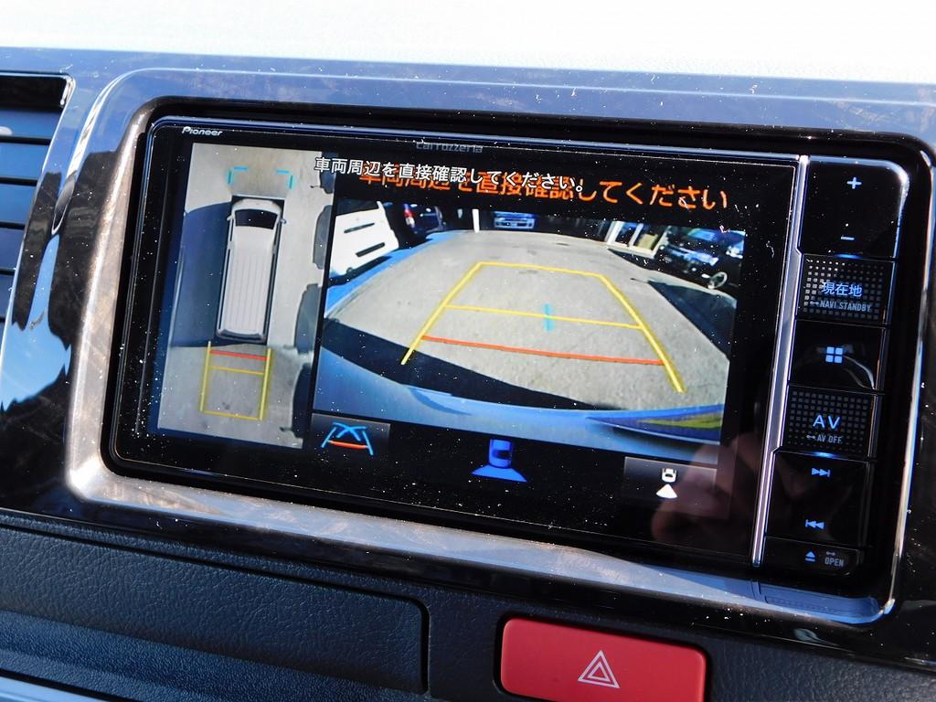6型から搭載されたパノラミックビューモニターも完備♪駐車するときに大変便利ですよっ♪