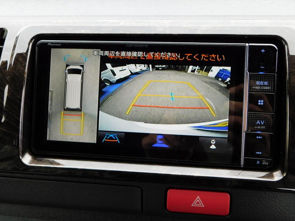6型からオプションのパノラミックビューも搭載済み!駐車が楽になりますよっ♪