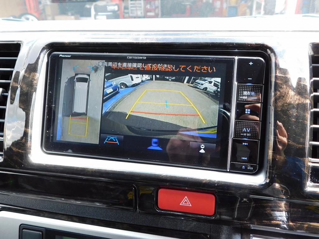 6型からオプション設定のパノラミックビューモニター完備!駐車がとってもしやすくなりました!!!
