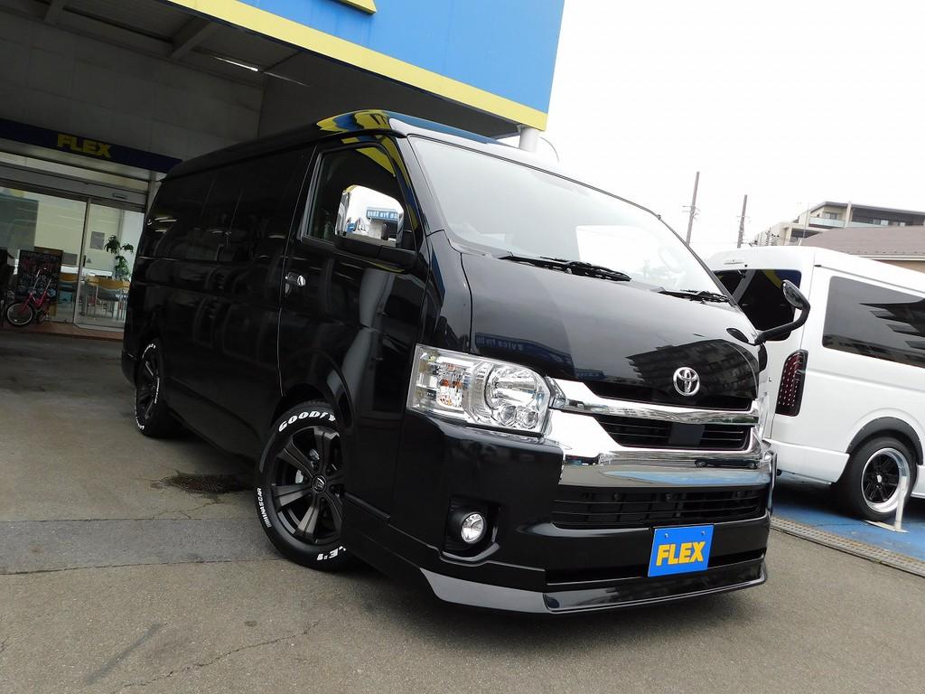 さぁこの漆黒の帝王を手に入れてみませんかっ♪内装架装車は大変人気の為、お早めに!!!現車確認はいつでも大歓迎ですよっ♪