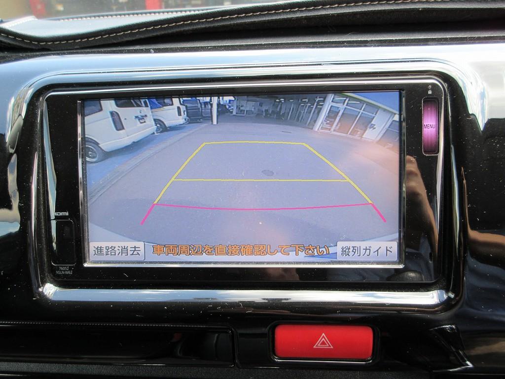 バックカメラも付いてますので駐車時の後方確認も安心ですよっ!!!