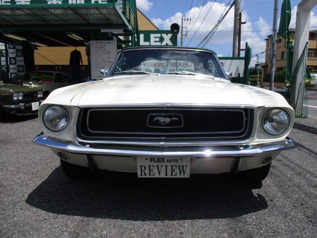 | フォード マスタングコンバーチブル 電動オープン