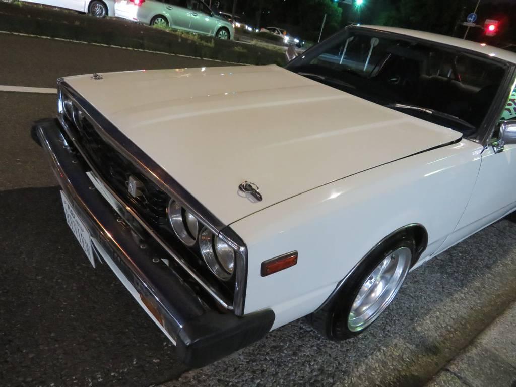| 日産 スカイラインHT GT-ELターボ 前期ルック