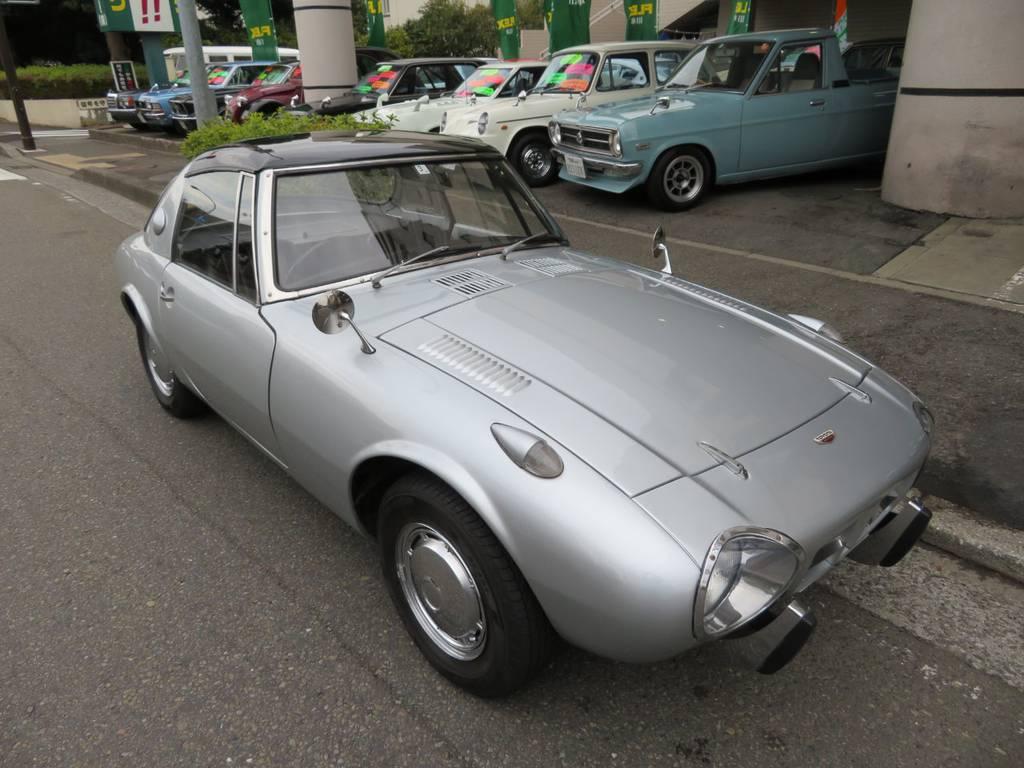 | トヨタ トヨタスポーツ800 前期型