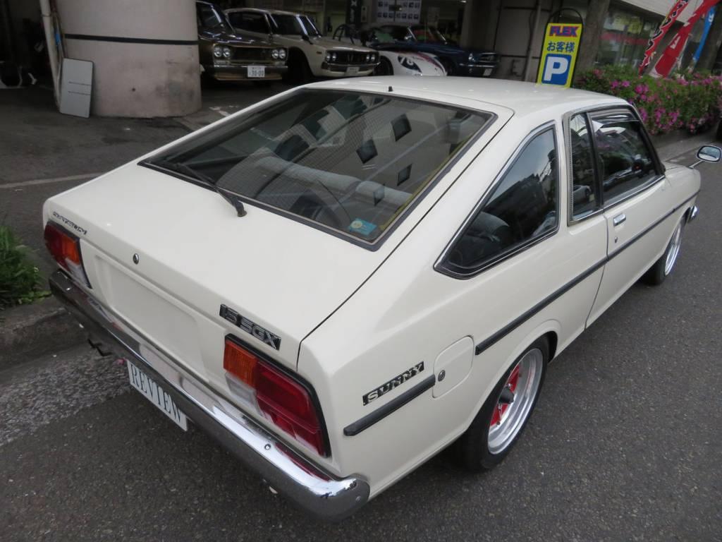 | 日産 サニークーペ 1500SGX