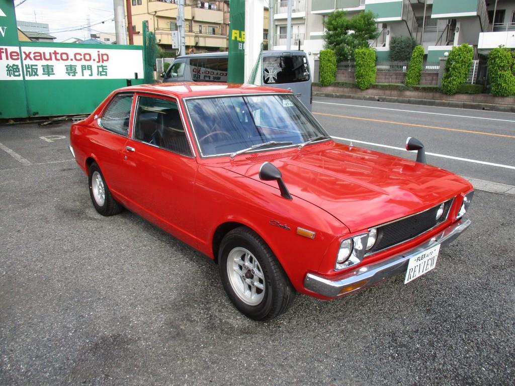 トヨタ カリーナ2ドアセダン 1600GT