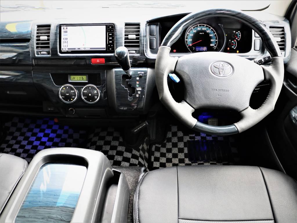 外装内装クリーニング済みです! | トヨタ レジアスエース 3.0 スーパーGL ロングボディ ディーゼルターボ 4WD