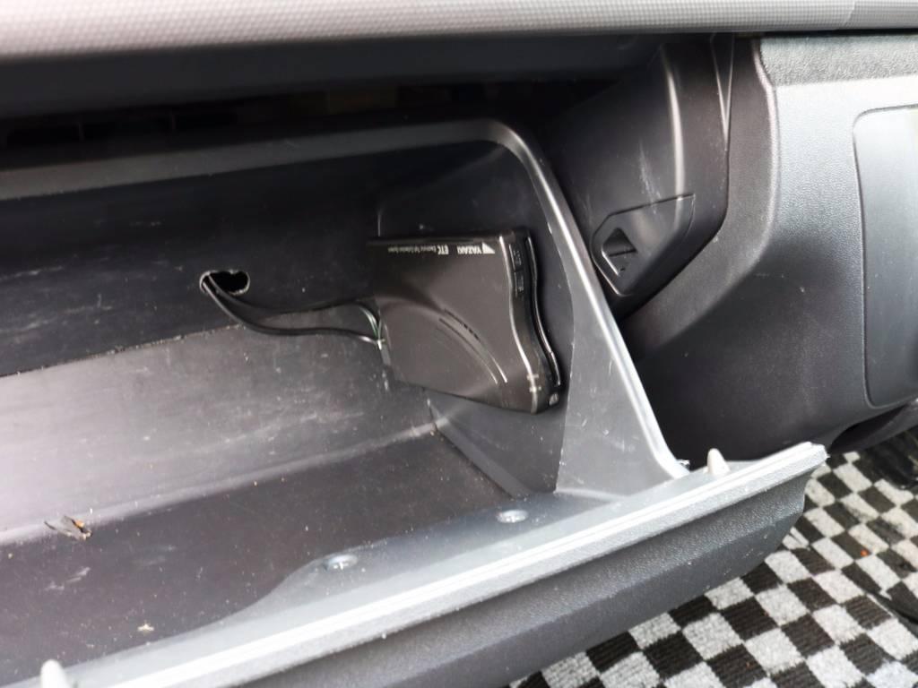 高速走行に便利なETC! | トヨタ レジアスエース 3.0 スーパーGL ロングボディ ディーゼルターボ 4WD