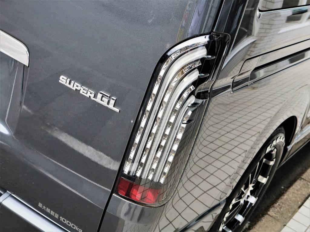 FLEXオリジナル煌テールランプ! | トヨタ レジアスエース 3.0 スーパーGL ロングボディ ディーゼルターボ 4WD