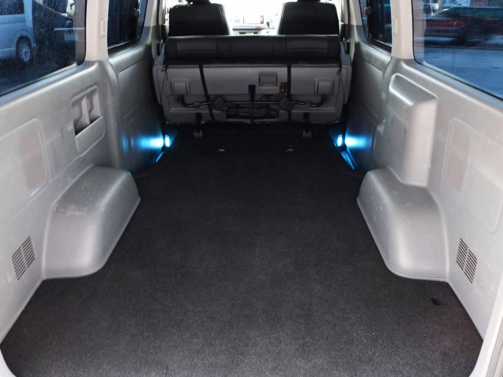 収納スペース広々御座います!何でも収納可能です! | トヨタ レジアスエース 3.0 スーパーGL ロングボディ ディーゼルターボ 4WD