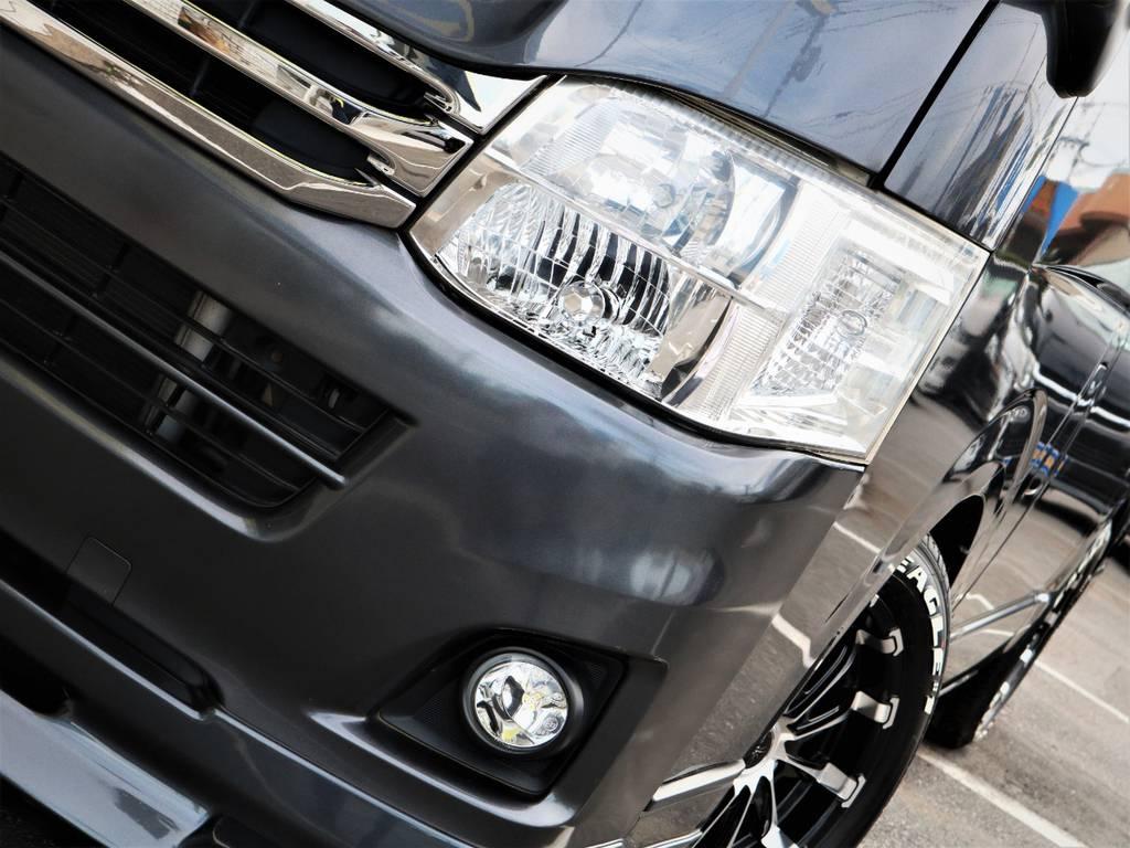 メーカーオプション「HIDヘッドライト」!夜間走行も安心です! | トヨタ レジアスエース 3.0 スーパーGL ロングボディ ディーゼルターボ 4WD
