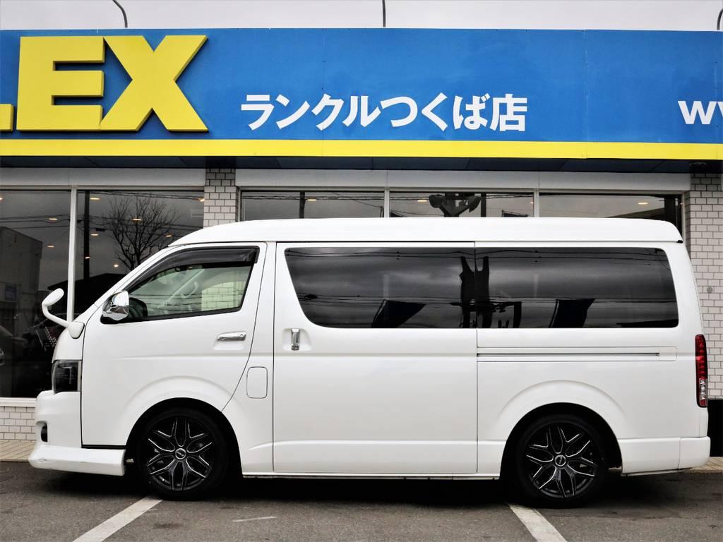 ローダウン済み! | トヨタ ハイエース 2.7 GL ロング ミドルルーフ シートレック