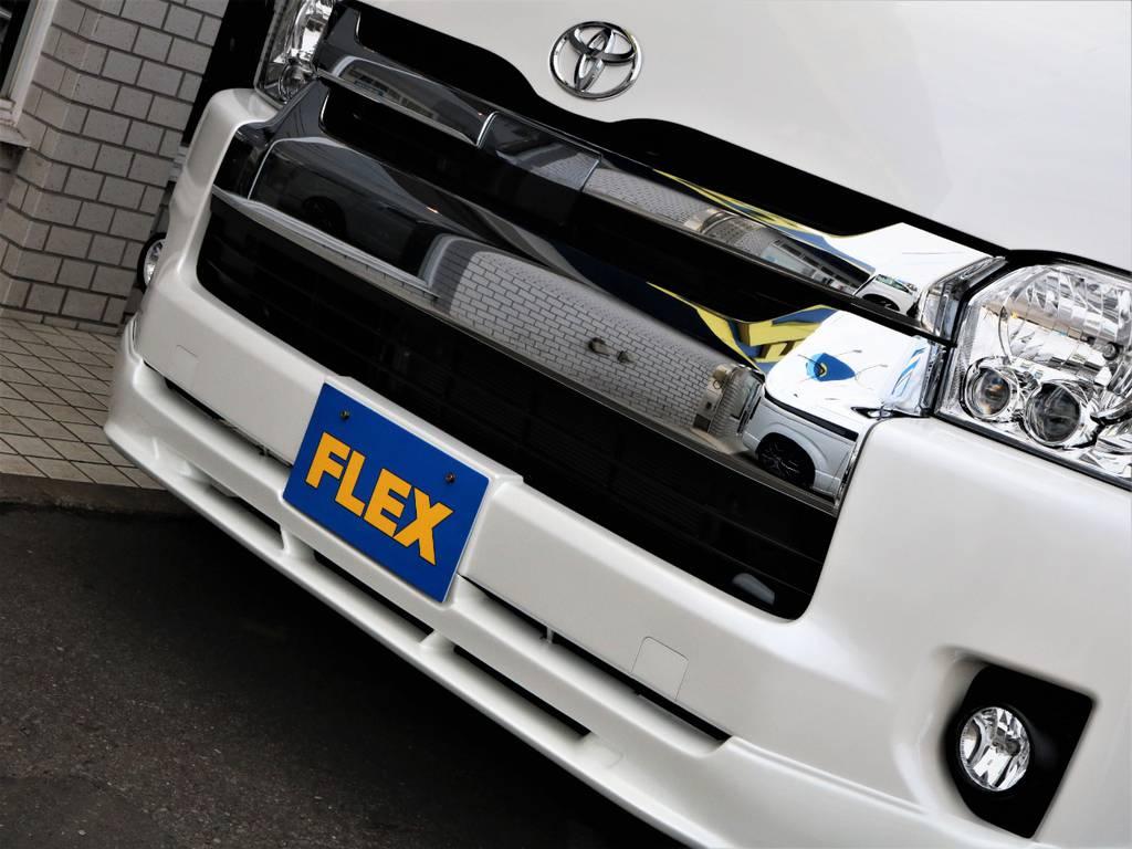 FLEXオリジナルVER2フロントスポイラー!