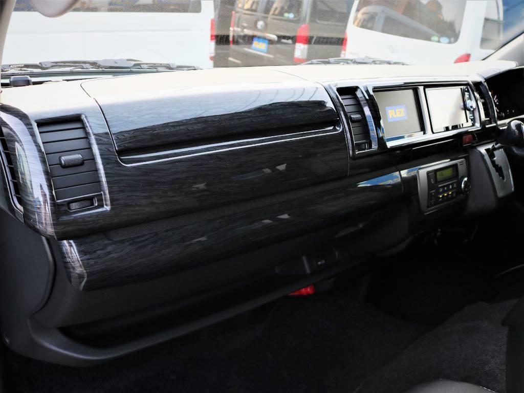 助手席エアバック、AC100V電源付き! | トヨタ ハイエース 2.7 GL ロング ミドルルーフ 4WD ライトカスタム 新型