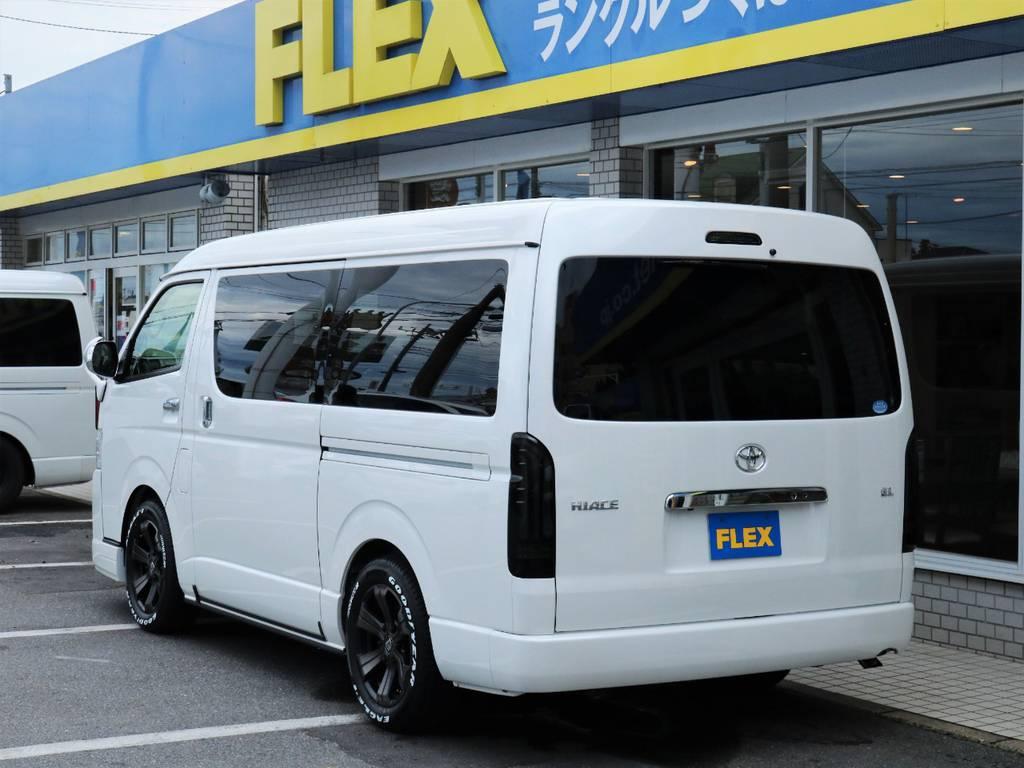 茨城県最大級のハイエース専門店!新車から中古車までラインナップ! | トヨタ ハイエース 2.7 GL ロング ミドルルーフ 4WD ライトカスタム 新型