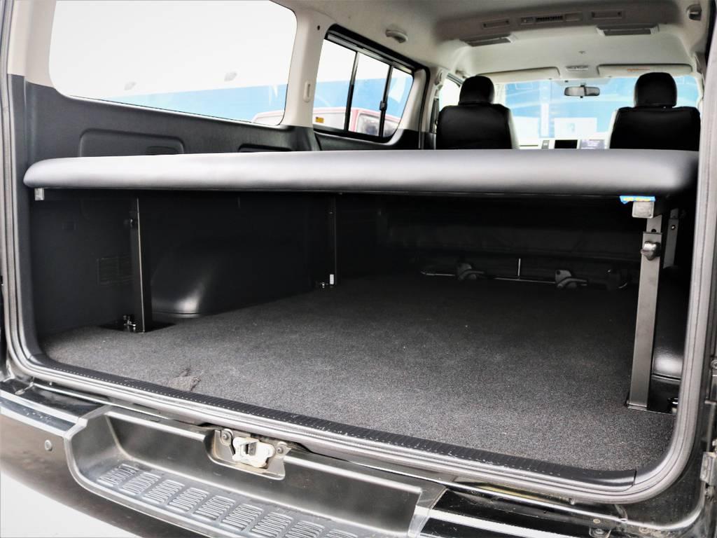 収納広々御座います。なんでも収納可能です! | トヨタ レジアスエース 3.0 スーパーGL ワイド ミドルルーフ ロングボディ ディーゼルターボ