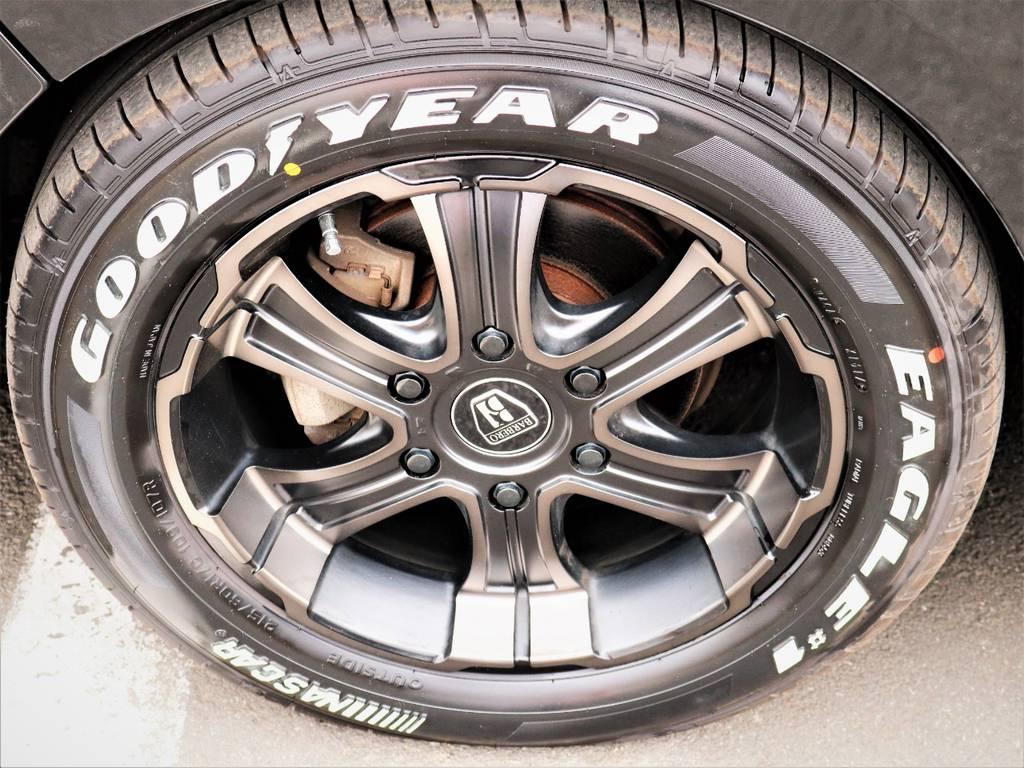 バルベロ17インチアルミホイール、ナスカータイヤ! | トヨタ レジアスエース 3.0 スーパーGL ワイド ミドルルーフ ロングボディ ディーゼルターボ