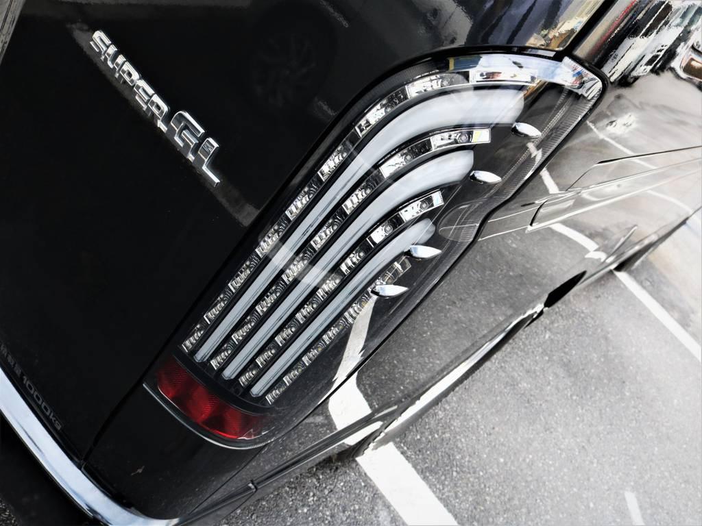 FLEX煌テールランプ! | トヨタ ハイエースバン 2.0 スーパーGL ロング