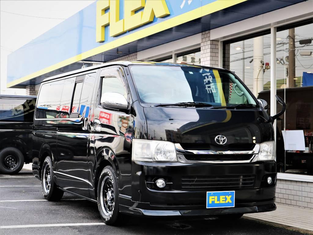 人気のブラックカラー! | トヨタ ハイエースバン 2.0 スーパーGL ロング