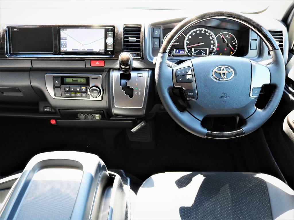 専用装備が満載の一台!即納車可能です! | トヨタ ハイエースバン 2.8 スーパーGL ワイド ロング ミドルルーフ ディーゼルターボ 特別仕様車ダークプライム 新型