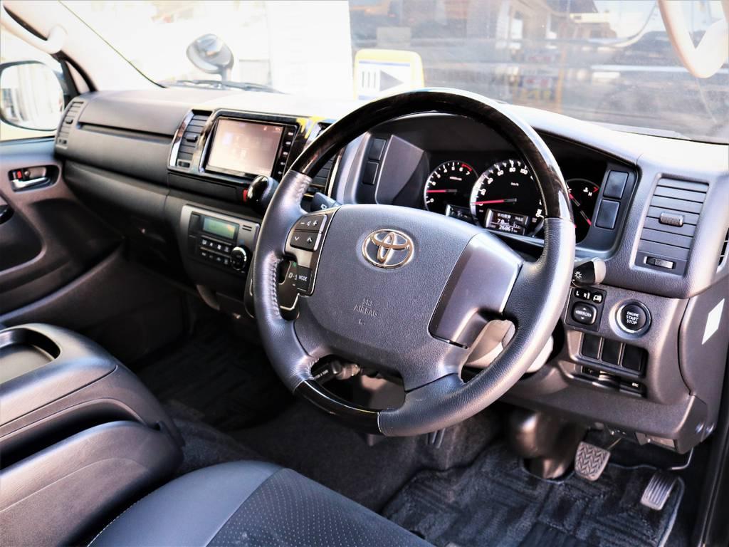 運転席周り | トヨタ レジアスエース 2.0 スーパーGL ダークプライム ロングボディ