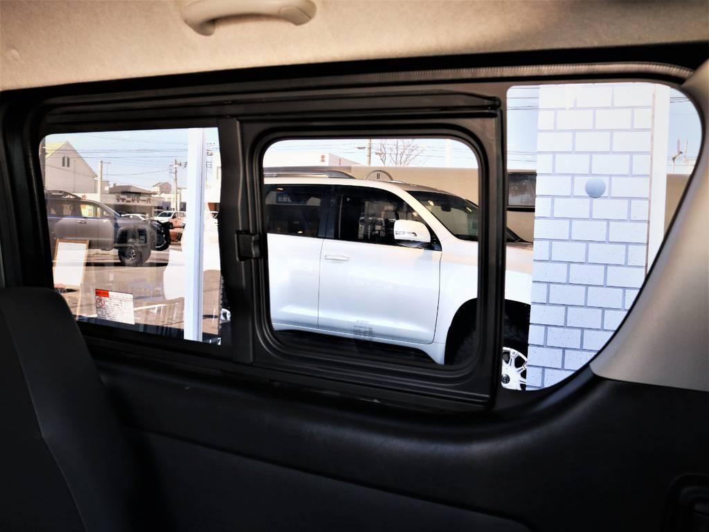 嬉しい小窓付き! | トヨタ レジアスエース 2.0 スーパーGL ダークプライム ロングボディ