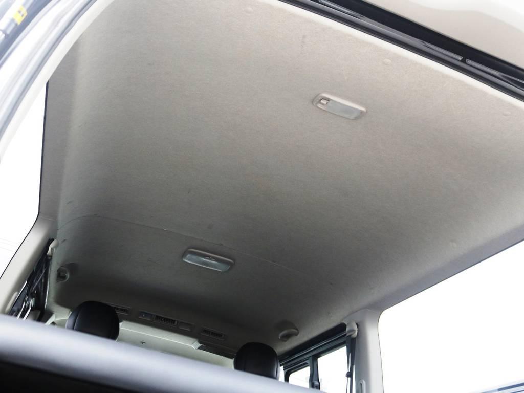 天井も傷なく綺麗な状態です! | トヨタ レジアスエース 2.0 スーパーGL ダークプライム ロングボディ