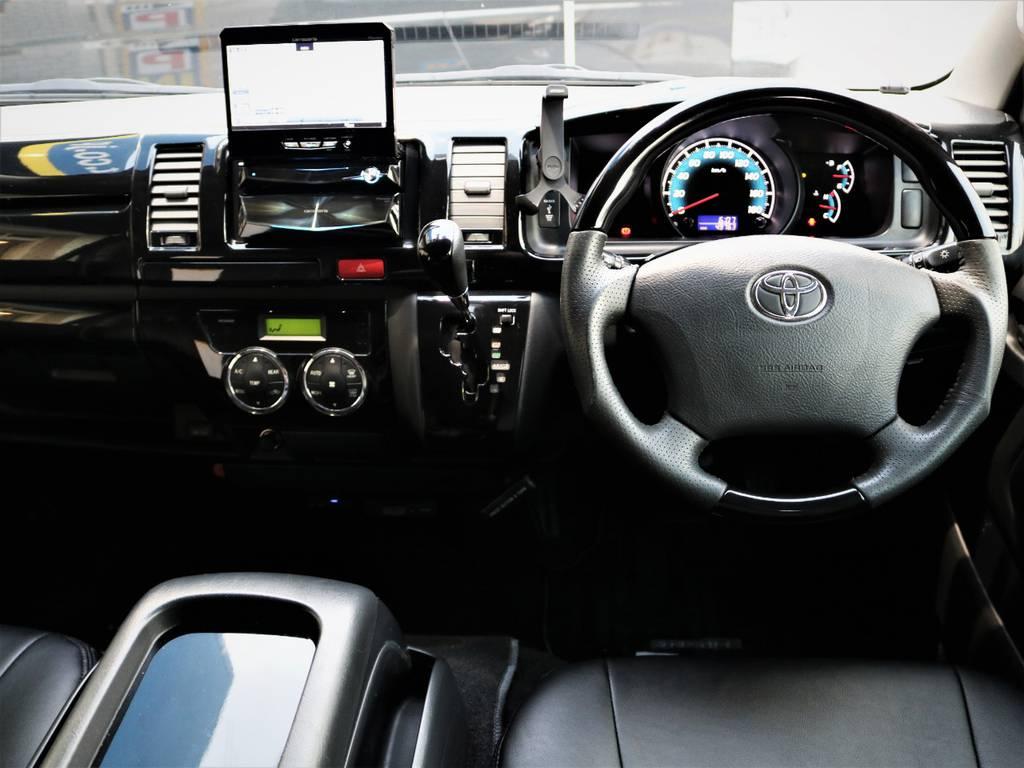 高級感溢れる室内、外装内装クリーニング済みです! | トヨタ レジアスエース 2.0 スーパーGL ロングボディ 特別仕様車プライムセレクション